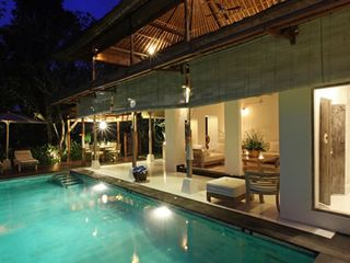 Intimate and romantic at night - Ubud villa vacation rental photo
