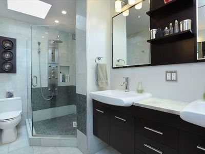 Bathroom, with sky-light