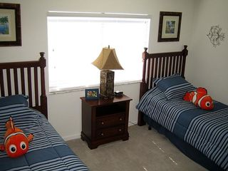 Windsor Hills house photo - Ocean-theme bedroom with 2 twin beds