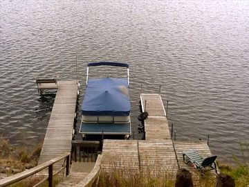 Pontoon and lakeside deck