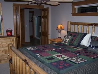 Sunriver house photo - Suite #1: Moose Junction -- King Bed with Private Bath and soaking tub