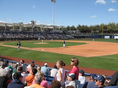 Baseball Spring Training in March, 15 Cactus Leagues in area