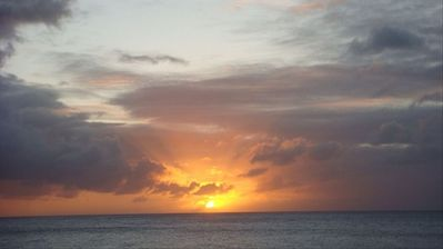 Pupukea apartment rental - Sunset at the beach