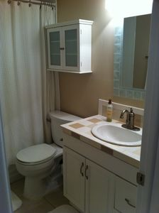 Hall bathroom - shared by 2nd and 3rd BR