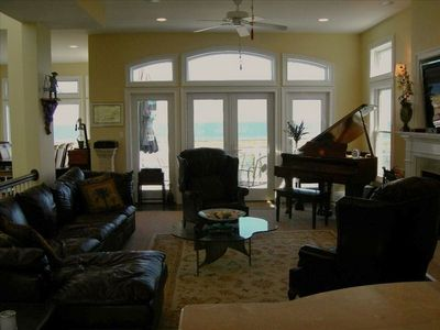 Family Room with View of Atlantic Ocean