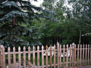 Silverthorne house photo - Private backyard near bike path and Blue River