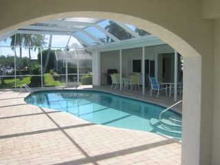 Pool and lanai with direct access to the kitchen and main living area