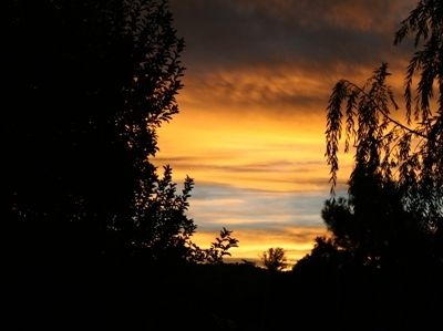 Why Santa Fe?  The skies of course!  Don't miss the sunrises and sunsets.