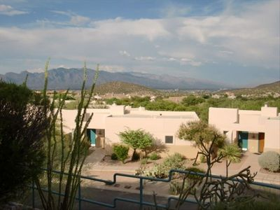 Tucson view from casita.