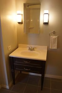 Fully remodeled master bath
