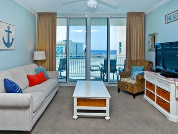 Okaloosa Island condo rental - great view from the dining room.