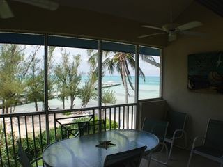 Grand Cayman condo photo - Retreat #33 - View from Screened Lanai