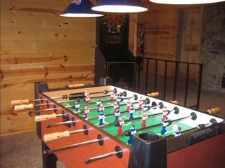 Lake Arrowhead house photo - New heavy duty foosball table.