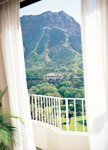View of Diamond Head from Master Bedroom