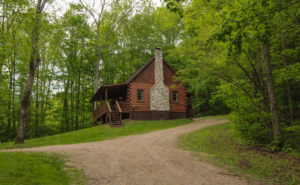 Secluded Hocking Hills Log Cabin Homeaway Ohio