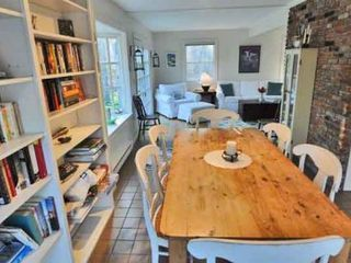 West Tisbury house photo - Dining Area Opens To Living Room
