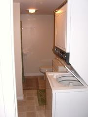 Newfound Lake house photo - New bathroom with washer and dryer