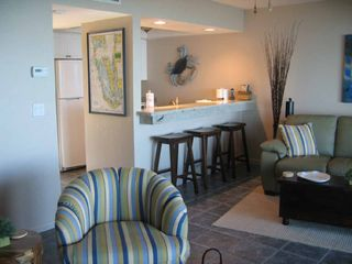 Sanibel Island condo photo - Bar stools provide extra dining area
