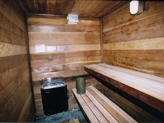 Lake Village townhome photo - Lake Village Sauna. Use the sauna at no charge for our registered guests.