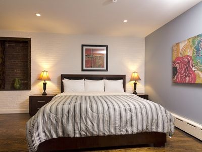 Midtown Manhattan apartment rental - Master bedroom