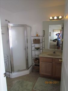 Wildwood condo rental - Master bathroom
