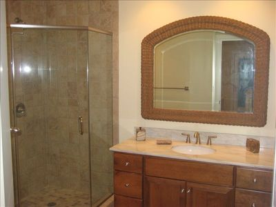 Boardwalk condo rental - Master Bath