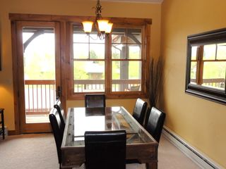 Steamboat Springs condo photo - Dining Area with great views out the window