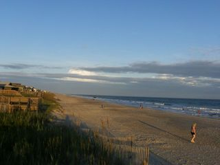 Holden Beach house photo - The Strand at Sunrise