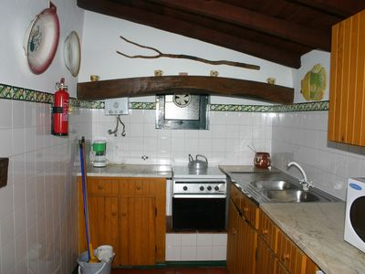 Mangues bungalow1 kitchen
