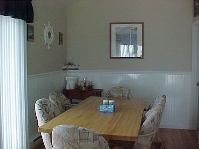 Sea Isle City townhome rental - Dining Area