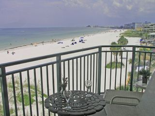 St Pete Beach condo photo - View to North from Living Room Balcony
