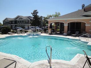 Gulfport villa photo - One of the 2 large pools at Legacy Villas/ each with heated spas