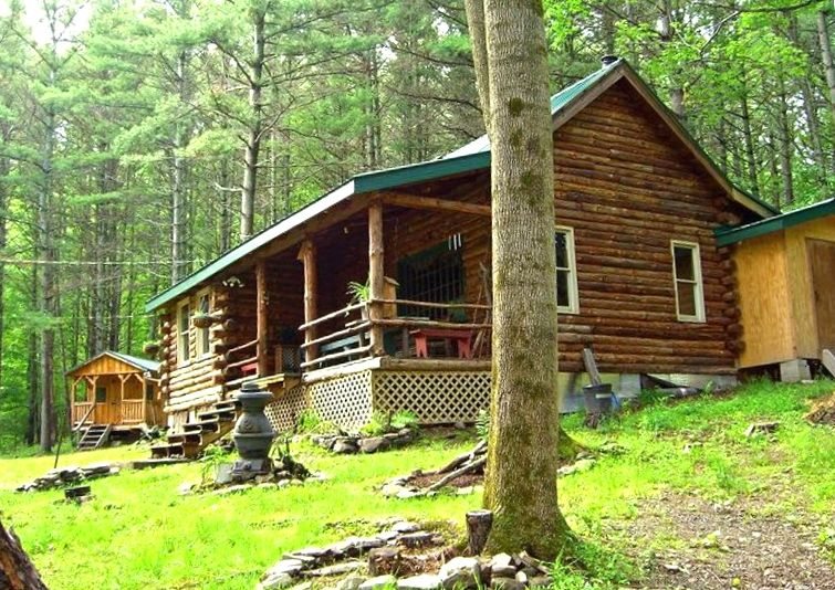 Tomcat Hollow Lodge Charming Rustic Secluded Log Cabin