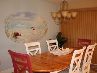Sanibel Island condo photo - Spacious Dining Room that is open to kitchen and living room
