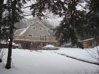 Wellsboro lodge photo - The Lodge in Winter (Tracking Snow)
