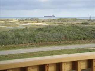 Port O'Connor house photo - .Matagorda ship channel from the porch