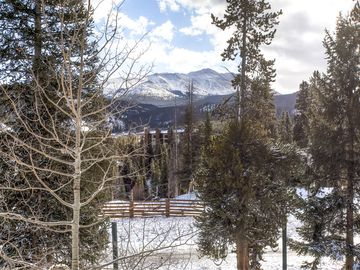 Cedars Townhomes View from Balcony Ski-in/Ski-Out Breckenridge L