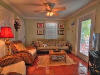 Key West cottage photo - End your day in the cozy living room!