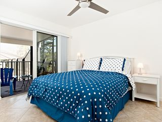 Sanibel Island house photo - Queen Bedroom with access to the lanai