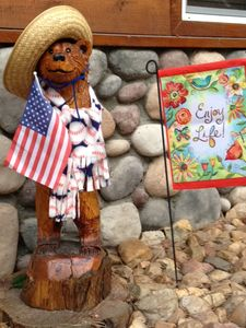 Baseball Bear Welcomes You, Remember Enjoy Life!!!