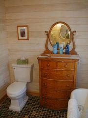 Upstairs bathroom vanity - Old Orchard Beach house vacation rental photo