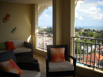 Fajardo apartment rental - The Balcony and some view..