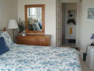 Oak Bluffs condo photo - Master Bedroom and en suite bath.