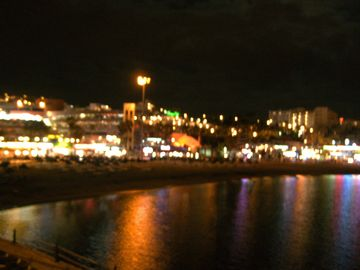 Playa de las Americas by night