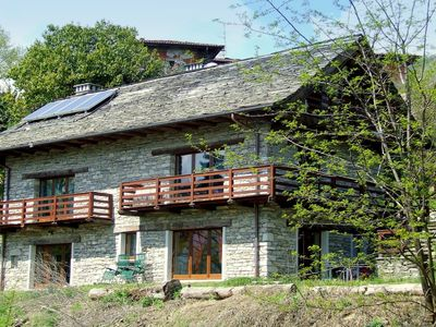 Holiday home in the nature, near the Lake Maggiore.