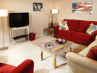 Branson condo photo - Comfortable seating for all with contemporary decor.