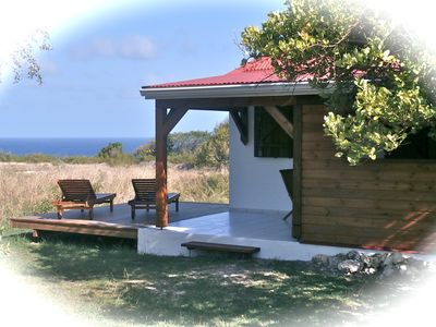 Bungalow stunning sea view comfort near the beautiful beaches of Capesterre