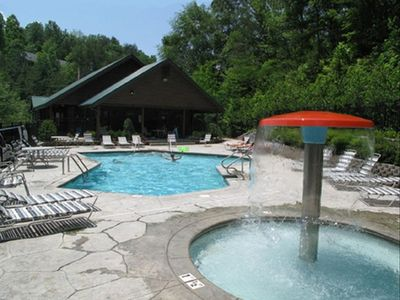 Black Bear Falls Club House and Pool