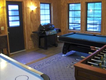 Three Season Game Room (disconnected from main house)