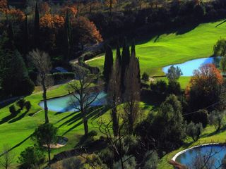 Toscolano-Maderno farmhouse photo - Golf course in December